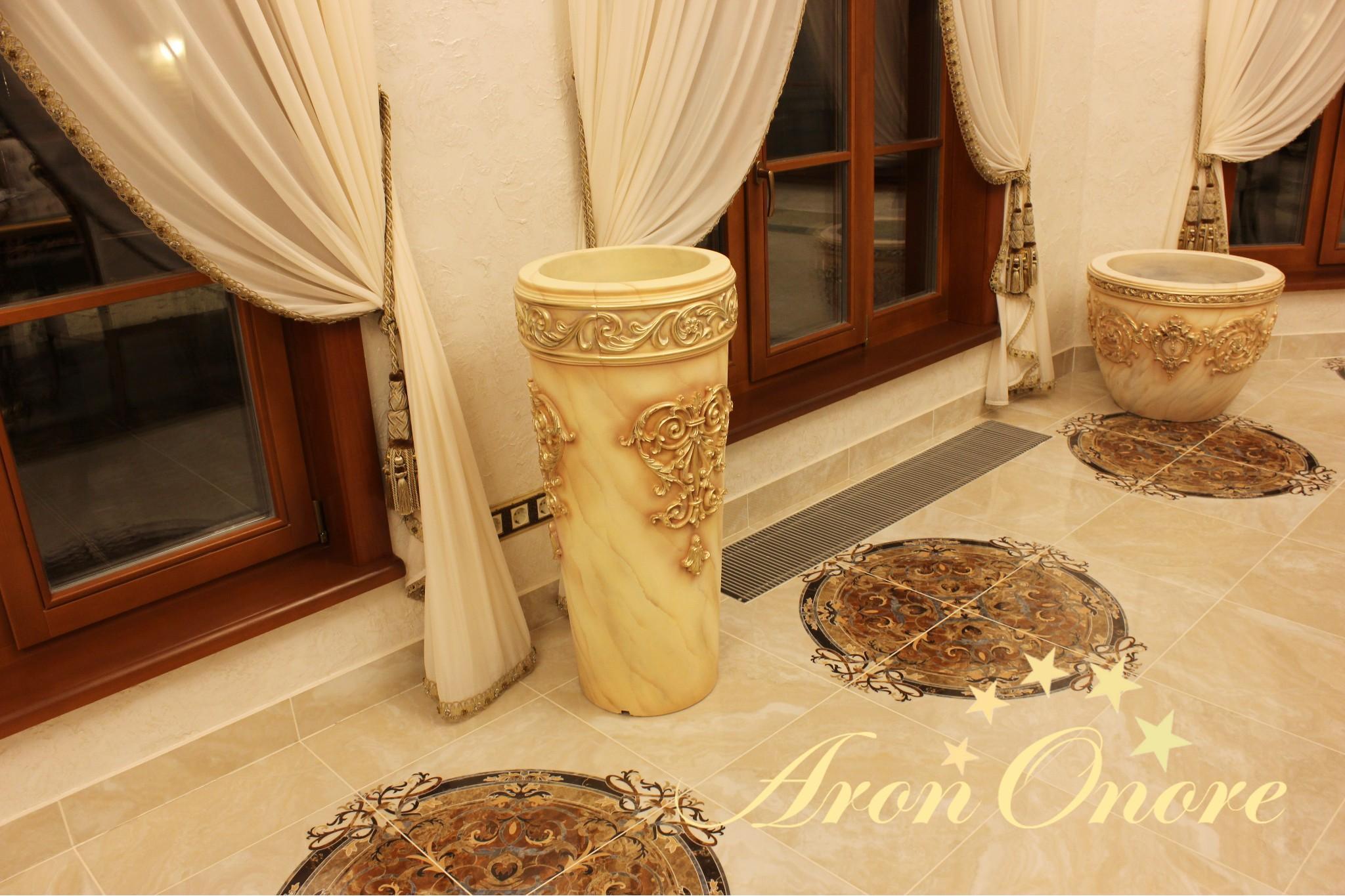 декорирование ваз Арон Оноре в интерьере