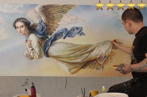 «Ангелы небесные» репродукция росписи потолка