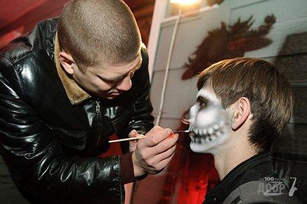 Боди-арт на хэллоуин