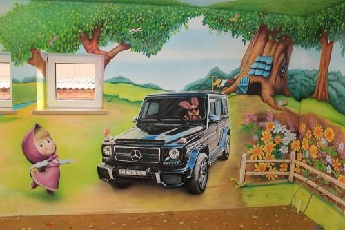 Дизайн стен в детском саду – это современное решение