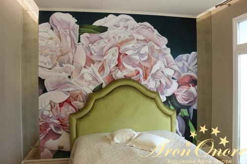 Интересует фреска в спальню?