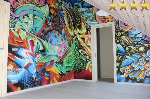 Детская комната в стиле – граффити