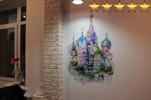 Храм Василия Блаженного – роспись кухни