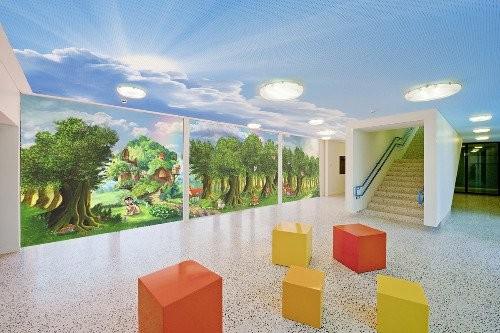 Идеи росписи стен в детском саду