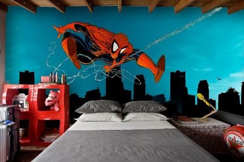 Идеи росписи стен детской комнаты