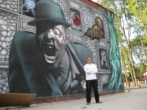 Примеры сказочных граффити