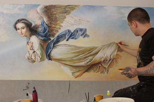 Оригинальные, эксклюзивные сюжеты для росписи стен