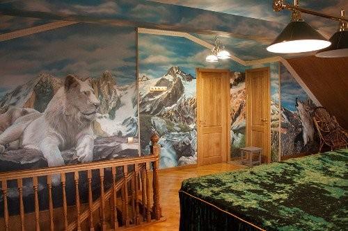 Роспись стен в пейзажном стиле