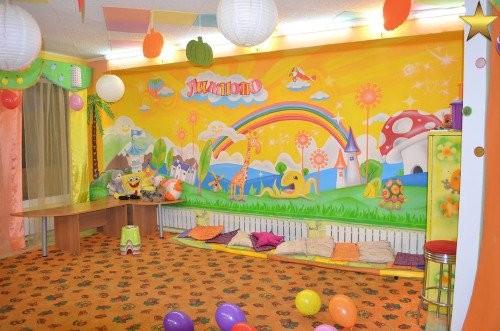 Оформление помещения для детей