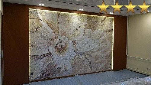 Роспись стен в квартире «Лепнина», Москва