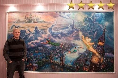 Роспись детской в Москве - «Питер Пен»