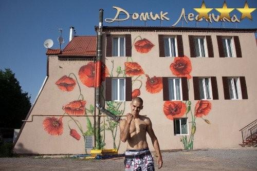 Роспись «Домика лесника» в Подмосковье