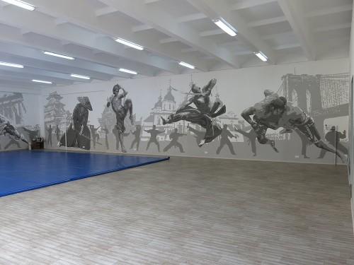 Роспись стен акрилом – это всегда актуально