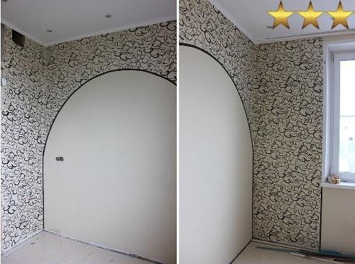 Роспись стен на кухне, г. Москва