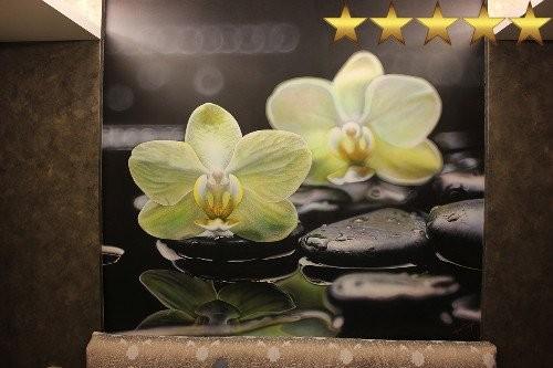 Роспись стен в спальне «Цветок на камне», Москва