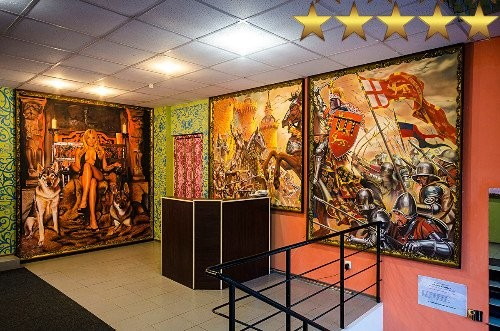 Студия художественного дизайна и росписи стен «Арон Оноре».