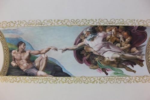 Стенная живопись: роспись стен