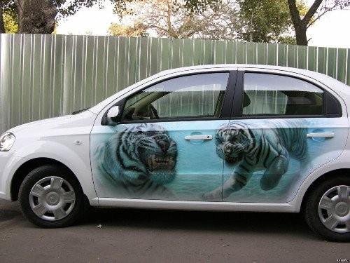 Тюнинг: покраска автомобиля