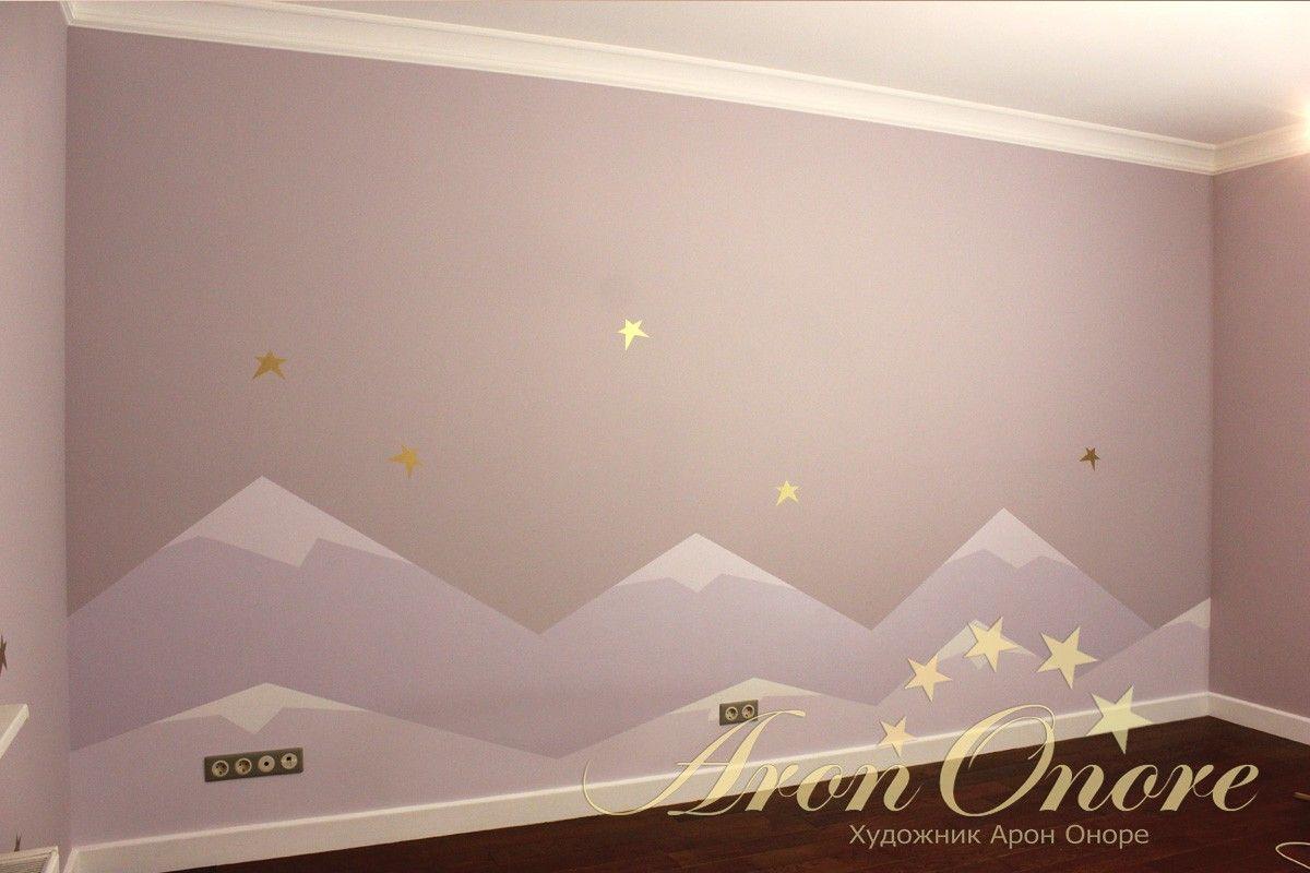 художественное оформление в детской комнате