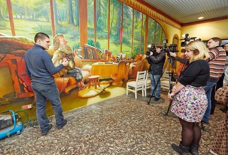 Арон Оноре художник рассказывает как сделать своими руками роспись стен
