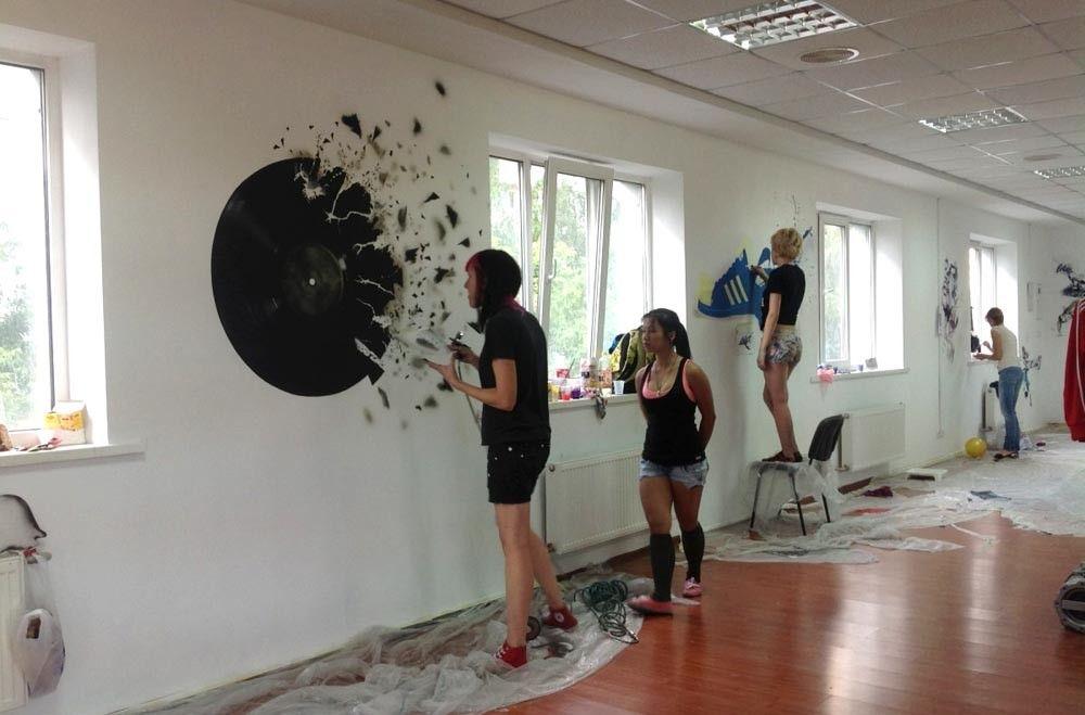 роспись стен своими руками обучение
