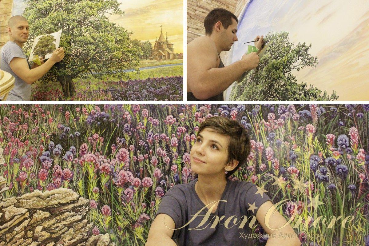художники роспись стены