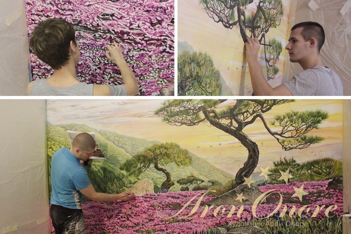 студия росписи стен Арон Оноре