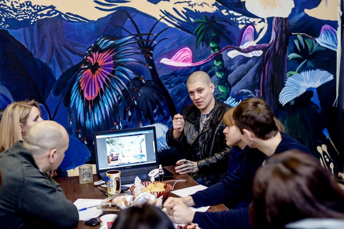 Мастер класс по росписи стен
