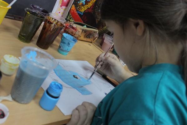Мастер класс по рисованию для детей