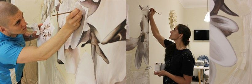 прорисовка рисунка
