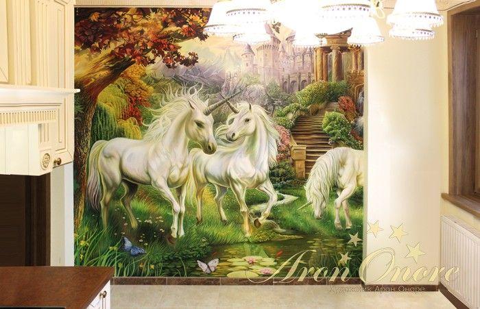 Рисунки на стенах цены в москве