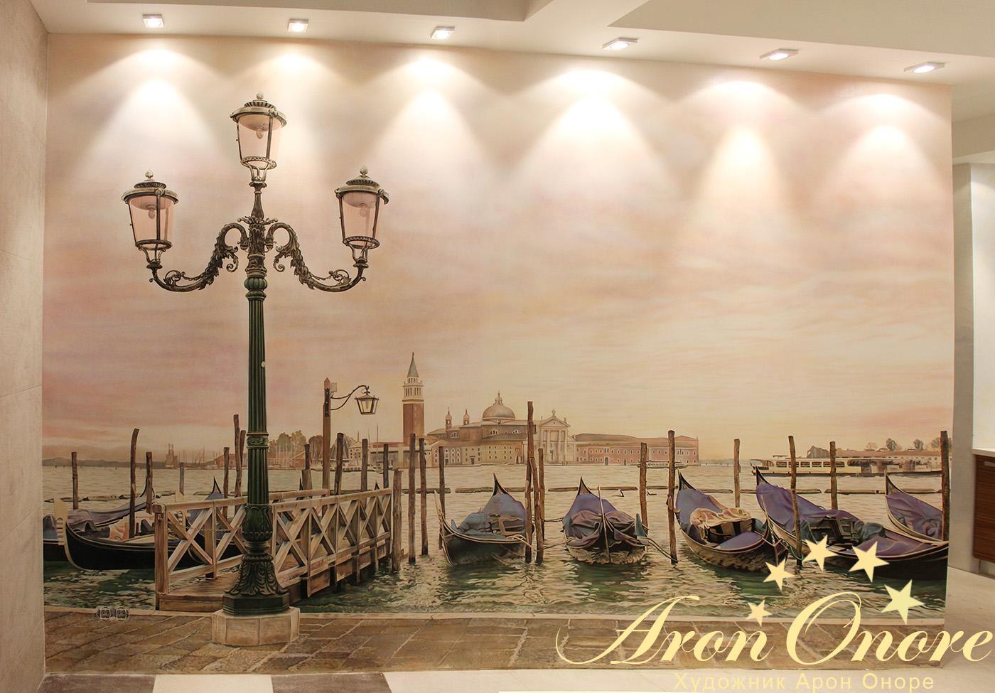 дизайн фрески на стену