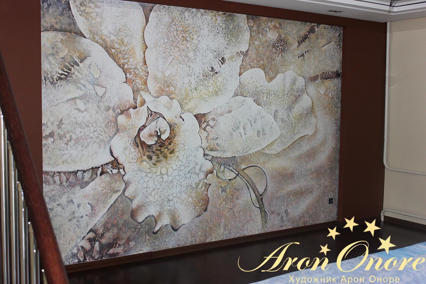 дизайн фресок в спальне фото