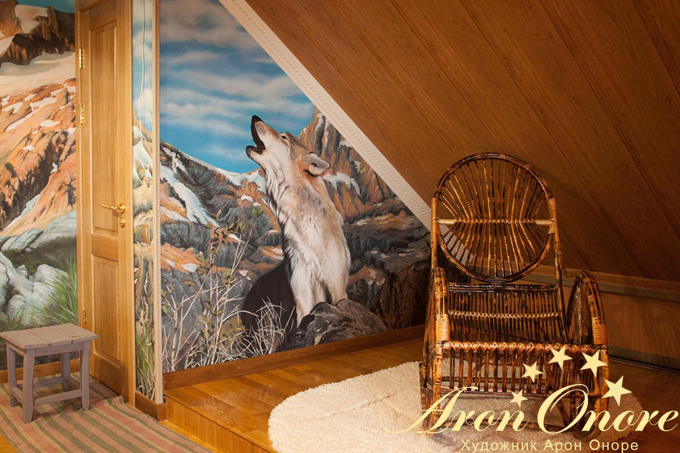 фрески в интерьере прихожей квартиры фото