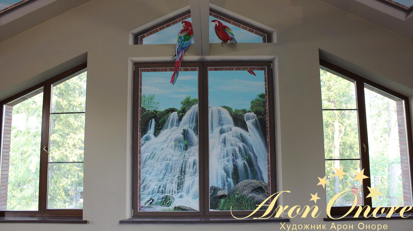 окно обманка фото